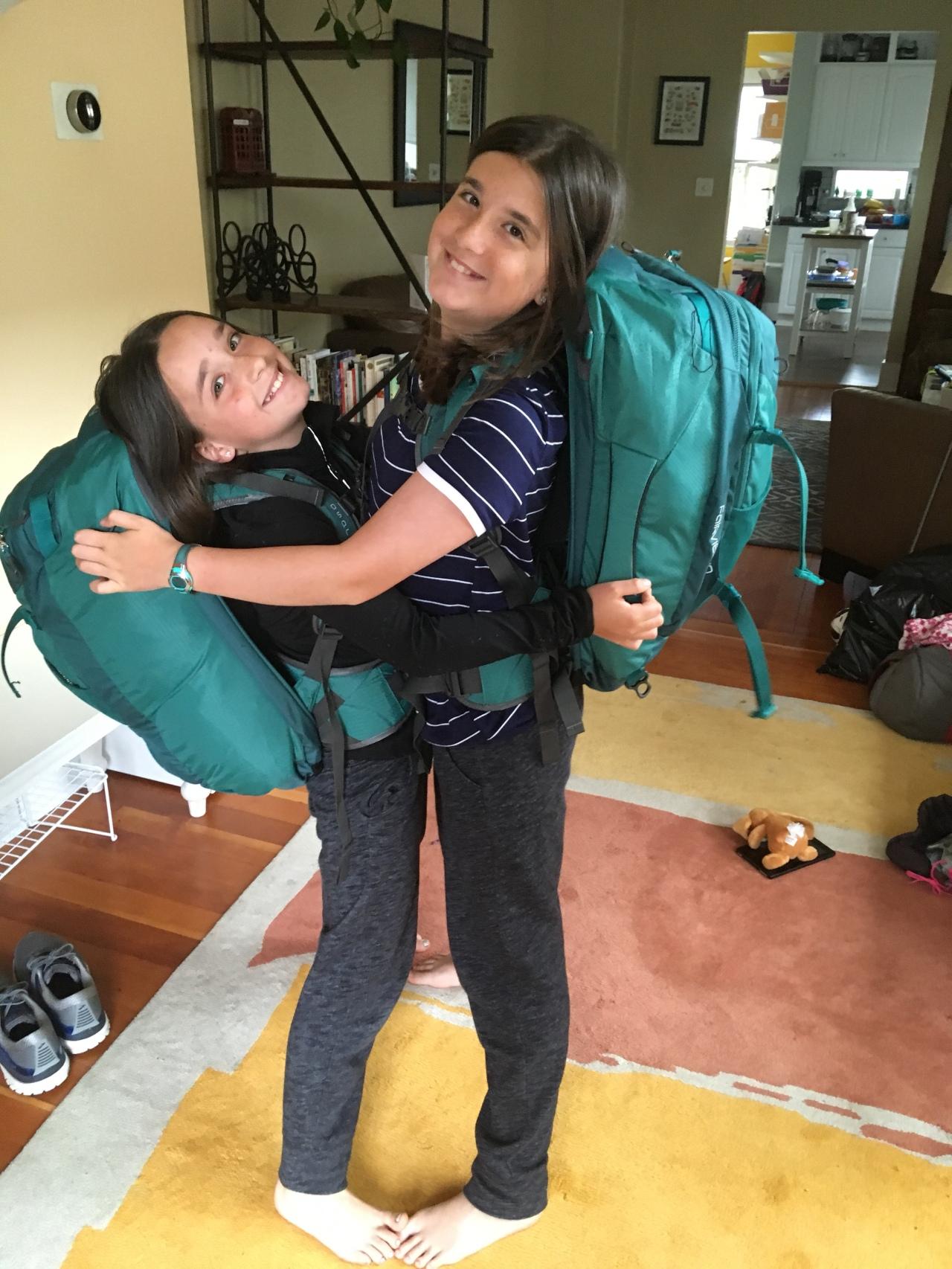 Packing prep begins