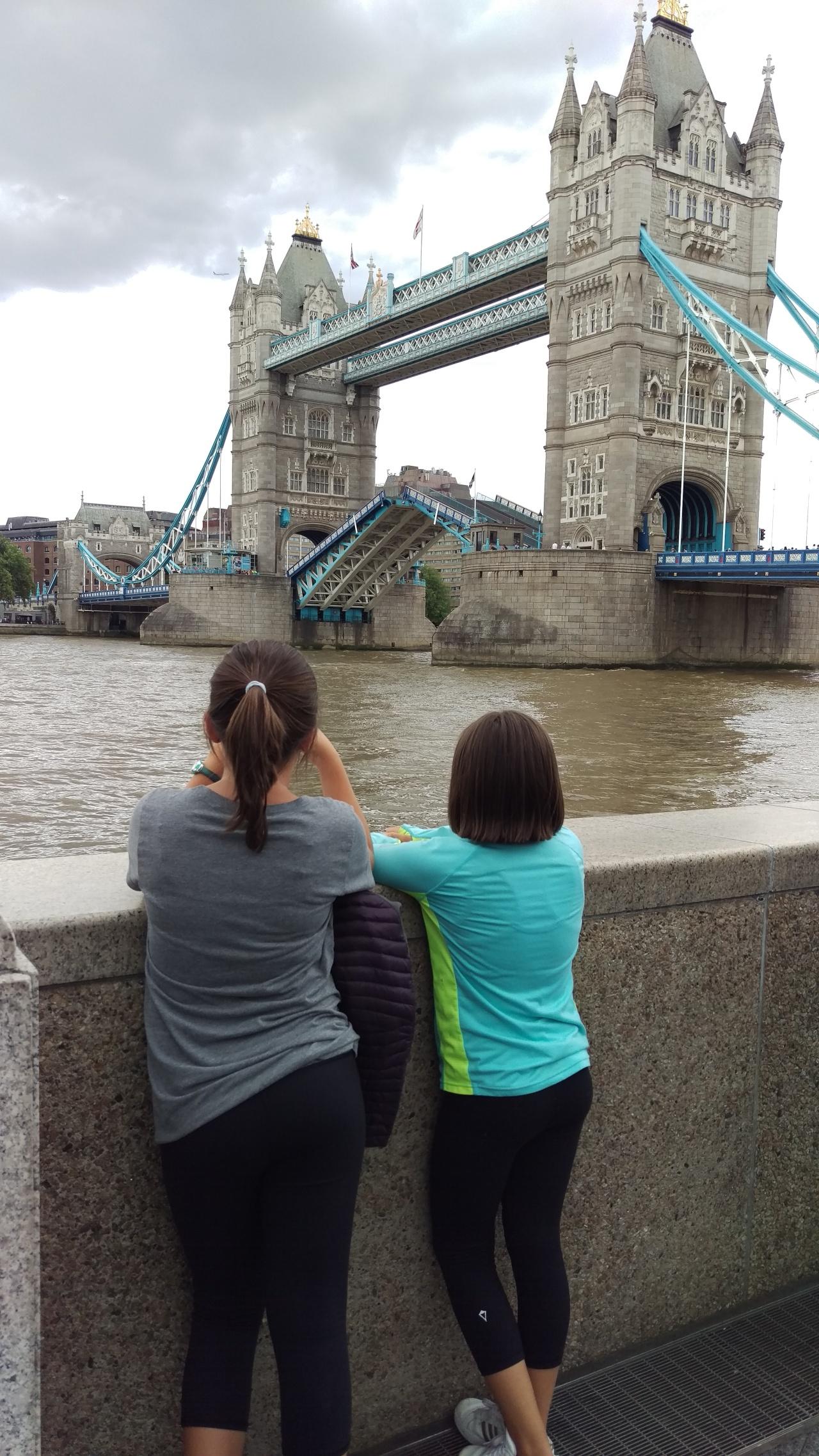 London and Tower Bridge byAnnabelle