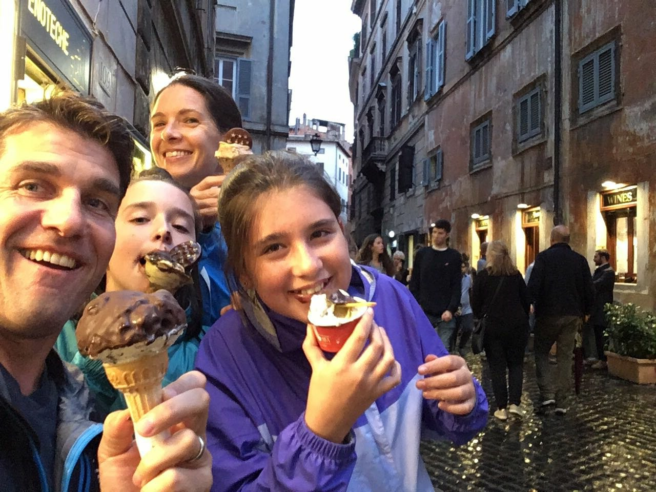 When in Rome…a familyconversation