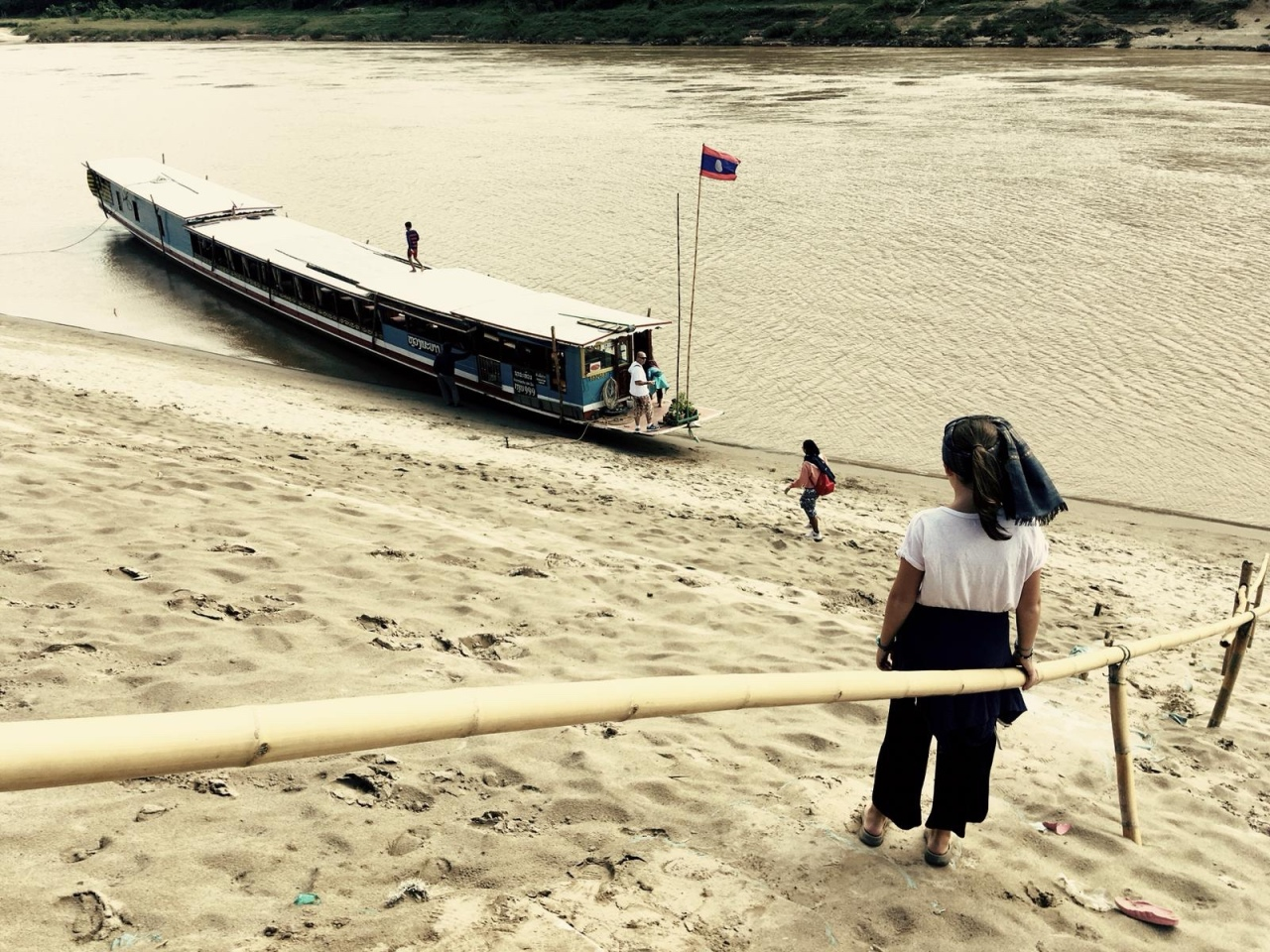 Slowboat to Laos, by Wayne