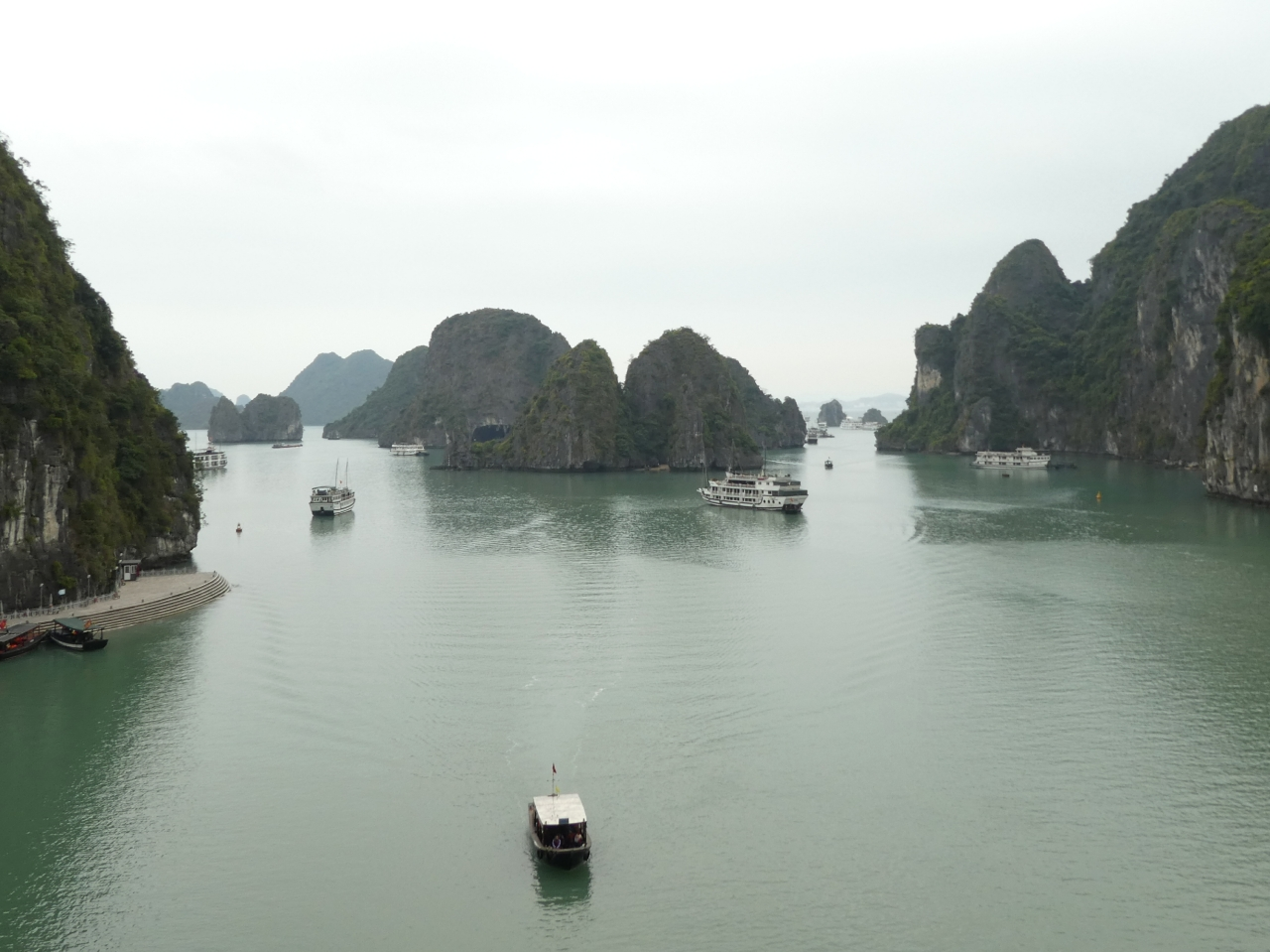 Hanging in Halong Bay, by Amelia