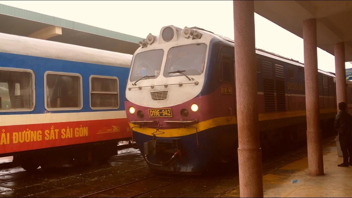Hanoi to Ho Chi Minh City by train byWayne