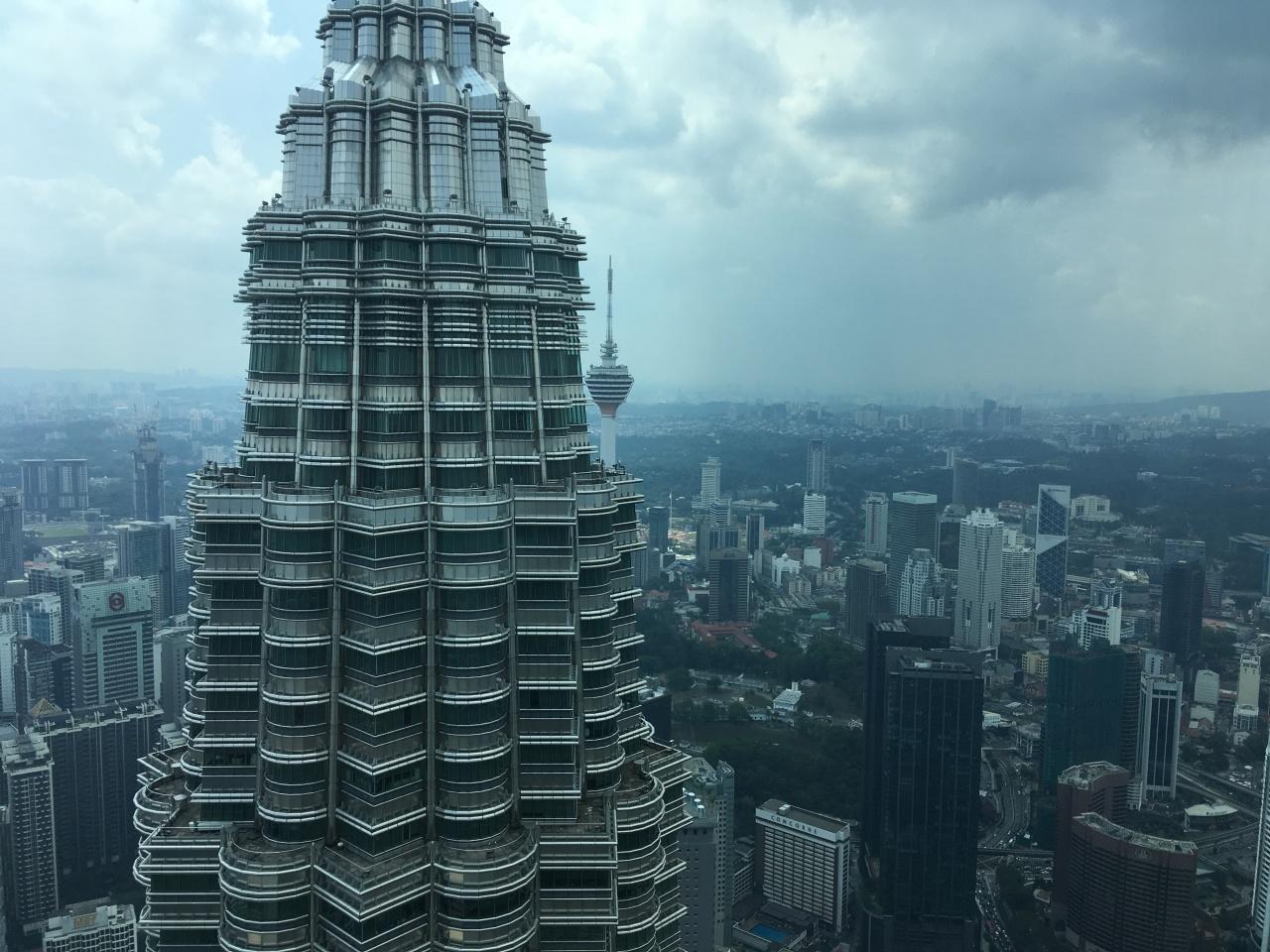 Kuala Lumpur, the Patronas Towers byAmelia